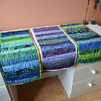 Batik Table Runners