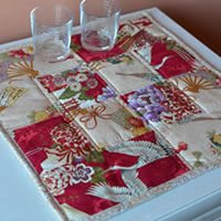 Oriental Table Topper