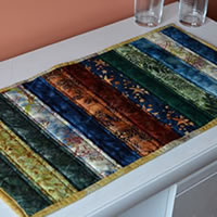 Rich Batik Table Runner