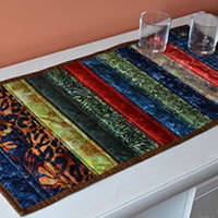 Vibrant Batik Table Decor