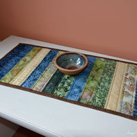 Blue Table Runner
